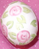 Detail of Decoupaged Egg
